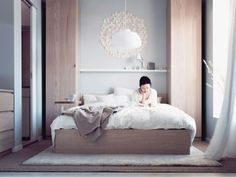 Fascinating Small Bedrooms Design with Bed Storage Solution