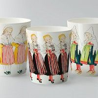 Swedish Fairy Tale designs  Three little lasses from the Elsa Beskow Collection by Design House Stockholm