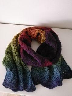Schal Needle Felting, Fiber Art, Weaving, Knitting, Crochet, Fashion, Crocheting, Moda, Tricot