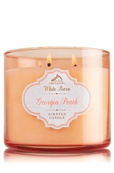Georgia Peach - 3-Wick Candle - Bath & Body Works - The Perfect 3-Wick Candle!