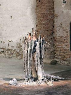 Melting Statue Replicas - Urs Fischer Creates Wax Sculpture of The Rape of the Sabine Women (GALLERY)