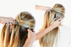 Hướng dẫn tết tóc kiểu xương cá siêu đáng yêu