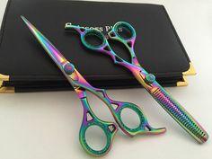 "6""Professional Hair Cutting Scissors Barber Shears Hairdressing Pet Grooming Set #ScissorsPlus"