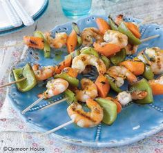 Shrimp Kabobs | 8 Easy Summertime Kabob Recipes from Gooseberry Patch