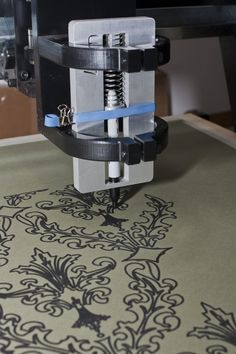 project: wallpaper – numerically controlled sharpie plotter | aarn