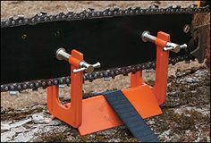 Chain-Saw Filing Vise - Lee Valley Tools