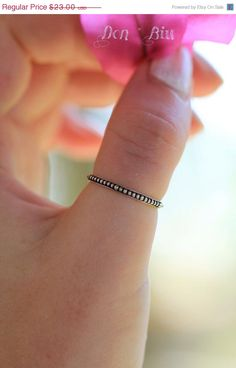 Sterling Silver Stack Ring, Thumb Ring, Midi Ring, Stacking Tiny Granulated Ring, Bohemian Style Solid Sterling Ring for Women by DonBiuBali on Etsy https://www.etsy.com/listing/203954279/sterling-silver-stack-ring-thumb-ring