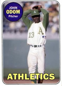 Oakland Athletics, Custom Cards, Athlete, Baseball Cards, 1960s, Sports, Legends, Alternative, Baseball Players