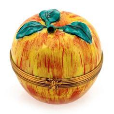 Apple Limoges Box