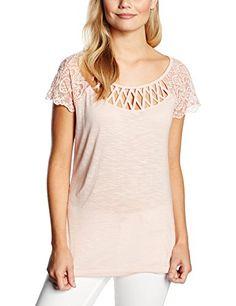 Morgan Dica - T-shirt - Uni - Manches courtes - Femme - B…