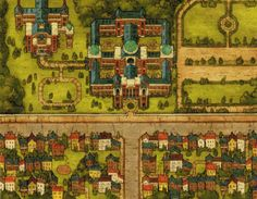 Professor Layton map backgrounds Professor Layton Pinterest