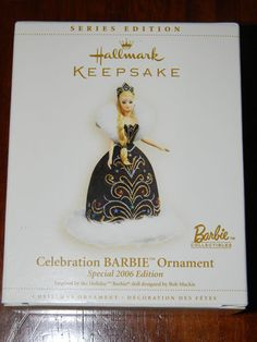 2006 Celebration Barbie Ornament