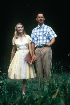 """Forrest Gump (1994): Forrest (Tom Hanks) and Jenny (Robin Wright) meet as children, and their lifelong relationship becomes more complicated in the midst of war and Jenny's personal problems.  Love-Filled Lines:  Jenny: """"Why are you so good to me?""""  Forrest: """"You're my girl!""""  Jenny: """"I'll always be your girl."""""""