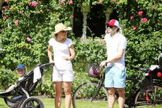 royalbloopers: Swedish Crown Princely Family Vacation in Solliden, July-August 2014-Princess Estelle, Crown Princess Victoria, Prince Daniel