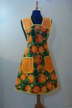 Hey, I found this really awesome Etsy listing at https://www.etsy.com/listing/161738832/pumpkin-patch-full-apron
