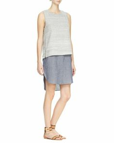 Two-in-One Combo Tank Dress at CUSP.