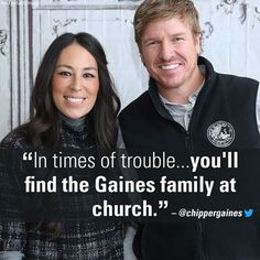 """""""In times of trouble. you'll find the Gaines family at church. Fixer Upper Show, Fixer Upper Joanna, Magnolia Fixer Upper, Joanna Gaines Family, Joanna Gaines House, Chip And Joanna Gaines, Jo Gaines, Joanne Gaines, Chip Gaines"""