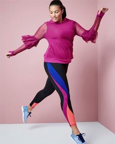 """5013071ea6a Lane Bryant on Instagram  """"From tree pose to travel days and carpool to  cardio"""
