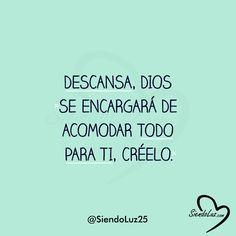 SiendoLuz.com Spanish Phrases, Christian Wallpaper, Thank You God, Salvador, Make Me Smile, Falling In Love, Life Hacks, Angeles, Lord