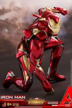 Hot Toys Marvel Avengers Infinity War Iron Man Mark L 50 Diecast Scale Figure Marvel Dc, Marvel Heroes, Captain Marvel, Lego Marvel, Avengers Symbols, Avengers Crafts, Heros Comics, Dc Comics, Iron Man Suit