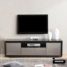 BM-130-BLK B-modern Esquire TV Stand in Black. B-Modern TV Stands feature…