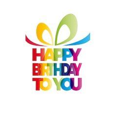 Gift Your Happy Birthday Vector Box Stock Vector (Royalty Free) 518035912 Happy Birthday Clip Art, Happy Birthday Video, Happy Birthday Wishes Cards, Happy Birthday Wallpaper, Happy Birthday Photos, Cute Happy Birthday, Happy Birthday Celebration, Birthday Text, Happy Birthday Friend