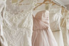 our wedding dresses - photo by julie harmsen photography