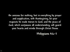Philippians 4: 6-7