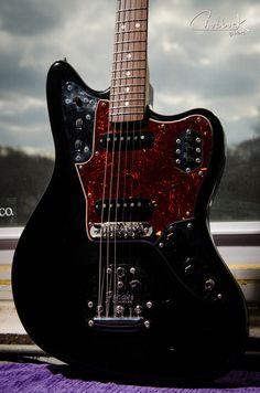 chubbuckguitars:  2008 Fender Jaguar :: new Mastery bridge and...