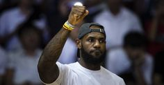 The Cleveland Cavaliers forward had some strong words for the president.