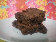 The very best vegan brownies ever!  This is my go to recipe. These babies are so fudgy and delicious.    http://www.joannavaught.com/2011/09/03/all-time-very-best-vegan-brownie-recipe/