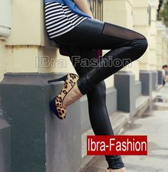 Sexy Fashion Wet look leather leggings pants Summer Trousers tights-wholesale lingerie,wholesale corsets IBra Fashion