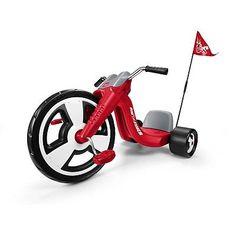 "Kids Radio Flyer Big Flyer Sport Trike Red 16"" Wheel Tricycle Bike"
