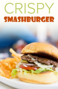 to make a smashed burger with burger sauce This burger recipe for a delicious smash burger is perfect for summer. Try grilling your burger.This burger recipe for a delicious smash burger is perfect for summer. Try grilling your burger. Slider Recipes, Burger Recipes, Copycat Recipes, Beef Recipes, Cooking Recipes, Gourmet Burgers, Griddle Recipes, Burger Dogs, Cookout Food