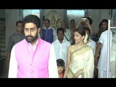 Aishwarya Rai with daughter & husband at father Krishnaraj Rai's day prayer meet. Aishwarya Rai Latest, Prayer Meeting, Gossip, Prayers, Interview, Father, Daughter, Husband, Photoshoot