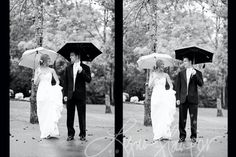 The rain made our wedding picture perfect!