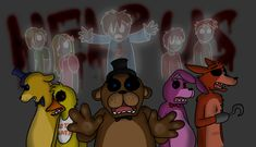 Been seeing a lot of fanart about the missing kids from FNAF ...