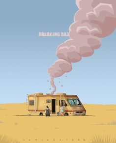 Breaking Bad-can't believe I have to wait another year to see how it all ends!