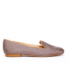 {the Dakota loafer} in taupe pattern