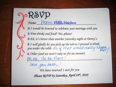 Rsvp replies