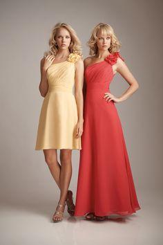 pretty bridesmaid dresses #allurebridals