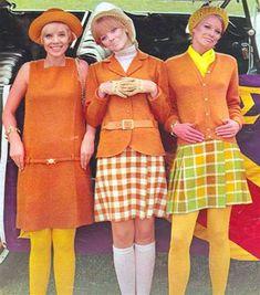 1967 Bobbie Brooks Paula Feiten Shelley Hack - Dresses for Women 60s And 70s Fashion, Vintage Fashion, 60s Fashion Trends, Sporty Fashion, Ski Fashion, Winter Fashion, Green Label, Look Retro, Lauren Hutton