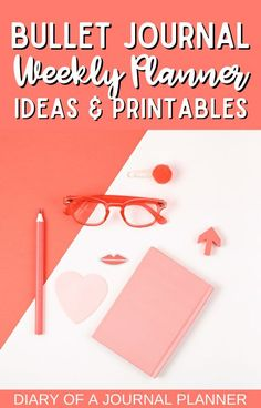 Get organized with these 25 clever and creative bullet journal weekly planner spread ideas plus free printables pages! #bulletjournalprintables #freeprintables #weeklyplanner #planneraddict Weekly Planner Template, Printable Planner Pages, Templates Printable Free, Free Printables, Bullet Journal Hacks, Bullet Journal Printables, Bullet Journal Layout, Weekly Spread, Planner Ideas