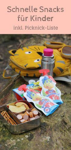 [Anzeige] Schnelle Snacks: Kinder haben eigentlich immer Hunger. Hier findet man Picknick Ideen und kleine Snacks für Kinder, die sich schnell zubereiten lassen und eine ideale Zwischenmahlzeit für Kinder sind. Die Picknickideen eignen sich natürlich auch als Brotdosen Ideen bzw. Lunchbox Ideen. - Werbung #FruchtZwerge #SchlauerSnack