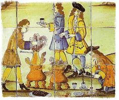 Brief article on Hot Chocolate in the 18th-19th Century on Jane Austen's World