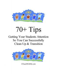 """This is a """"must-have"""" bulleted easy-read of transitions you can use to get your students lined up and stay quiet while they transition in the hallway or to other activities."""