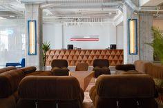 ODDSSON is a brand new hostel in Reykjavik. It's a hotel with a hostel atmo, hostel with a hotel service. Book your stay at ODDSSON hostel Reykjavik online Design Hotel, Design Studio, Custom Made Furniture, Design Furniture, Furniture Making, Adidas Design, Ace Hotel, Hotel Lobby, Hotel Lounge