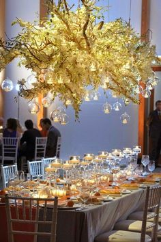 Unique and beautiful wedding decor.