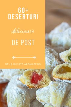Romanian Desserts, Egg Free, Natural Remedies, Sweet Treats, Vegan Recipes, Deserts, Muffin, Food And Drink, Veggies