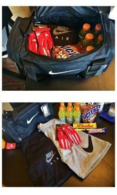 Sports-Bag | Easy DIY Birthday Gifts for Boyfriend | Handmade Presents for Husband Anniversary